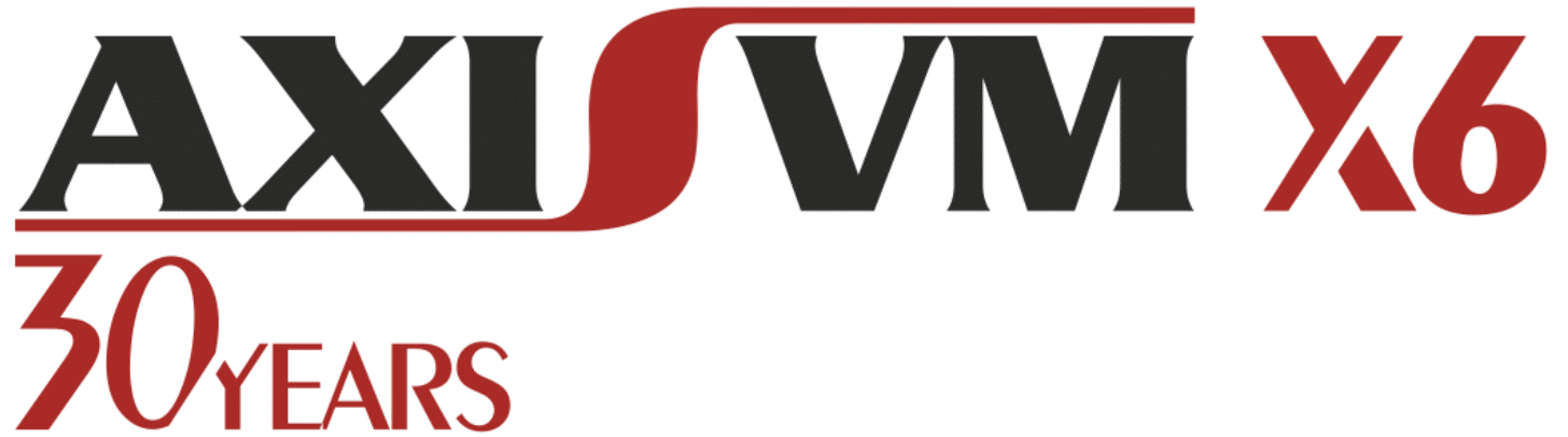 AxisVM 30 jaar logo